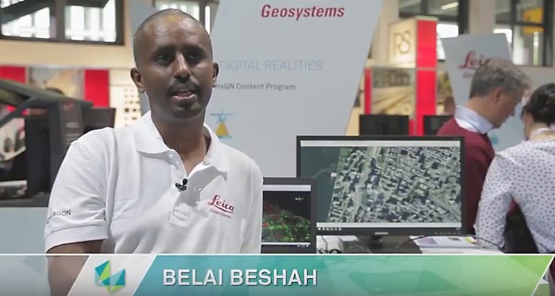 HxGN Content Program - Proven Airborne Accuracy - Interview with Belai Beshah